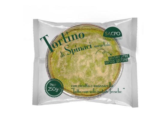 Tortino di Spinaci con Ricotta e Mozzarella