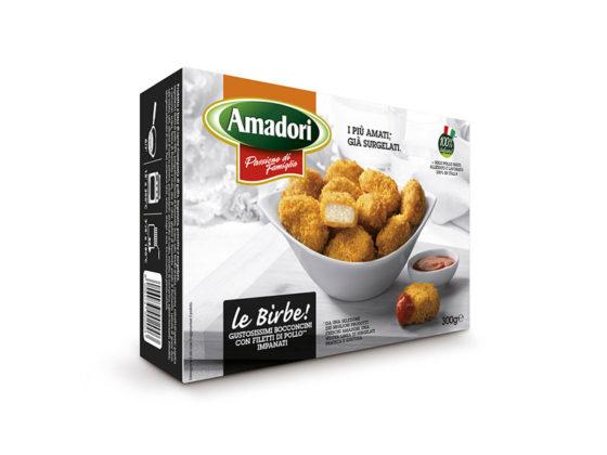 Le Birbe di pollo Amadori
